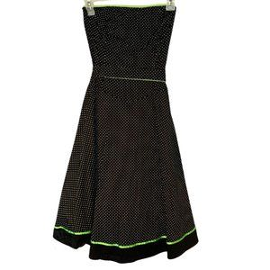 Ruby Rox Strapless Polka Dot Mini Dress (Sz: 7)